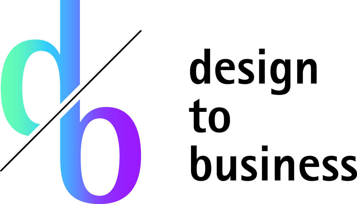 design to business - Logo
